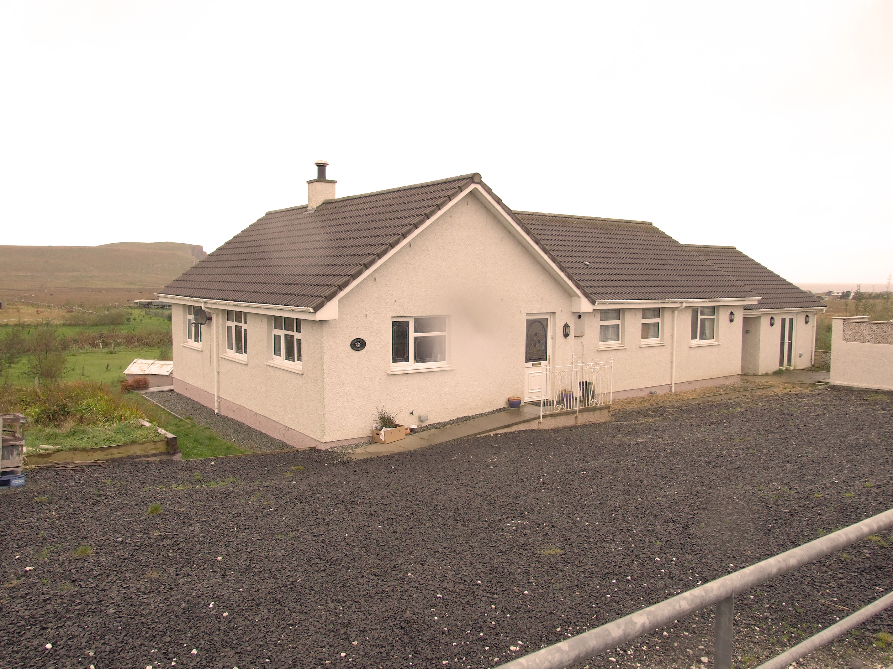 front of house isle of skye property for sale. Black Bedroom Furniture Sets. Home Design Ideas